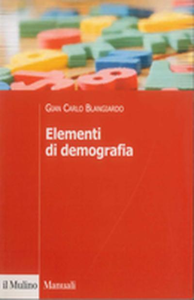 Cover Elementi di demografia