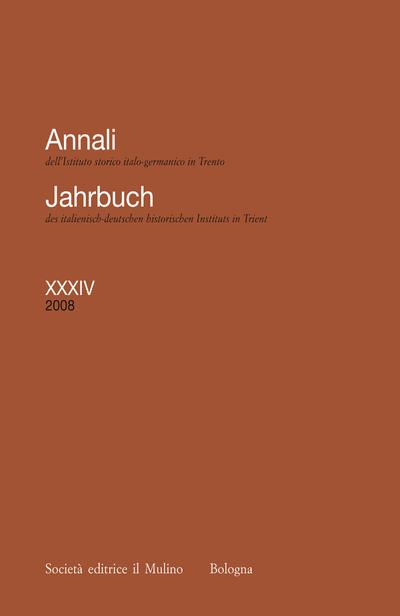 Cover Annali XXXIV, 2008