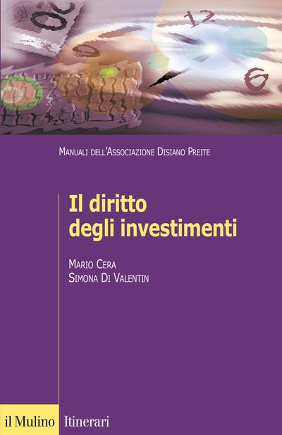 Cover Il diritto degli investimenti