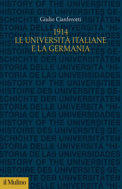 Cover 1914. Le università italiane e la Germania
