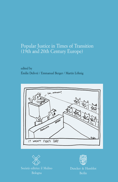 Cover Popular Justice in Times of Transitions (19th and 20th Century Europe)