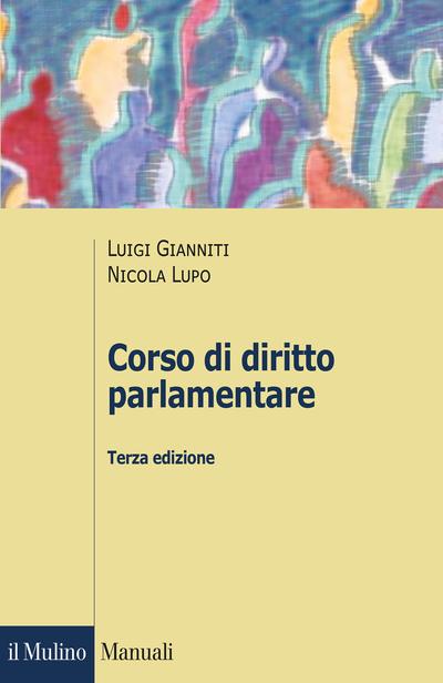 Cover Corso di diritto parlamentare