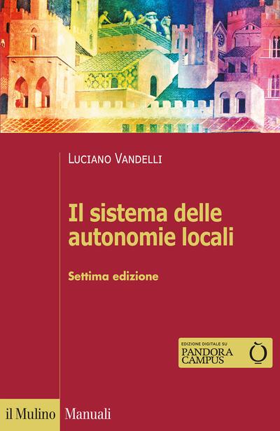 Copertina Il sistema delle autonomie locali