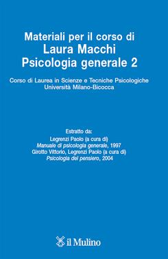 copertina Materiali per il corso di Psicologia generale 2